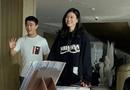 """Tin tức giải trí - Khoảnh khắc Ming Xi 1m78 dạo phố bên ông xã thiếu gia trùm sòng bạc Macao 1m65 gây """"sốt"""""""