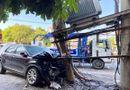 Tin trong nước - Xế hộp tông gãy cột điện gắn trạm biến áp, hơn 1.000 hộ dân bị cắt điện tạm thời