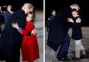 """Tin thế giới - Hai nhóc tì được Tổng thống Trump âu yếm gây chú ý, chiếm trọn """"spotlight"""" tại sự kiện lớn"""