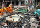 """Tin trong nước - Vụ hàng trăm cột điện bị """"hạ gục"""" vì bão số 5: Bộ Xây dựng đánh giá nguyên nhân sự cố"""