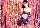 Tin tức giải trí - Lynk Lee diện váy lấp lánh khoe đường cong mỹ miều mừng tuổi mới