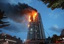 Giải trí - Streamer Hàn Quốc suýt mất mạng khi livestream tòa nhà đang bốc cháy