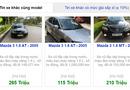 """Thị trường - Sốc: Mazda 3 cũ """"phá giá"""" chỉ ngang bằng 2 chiếc Honda SH"""