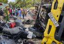 """Tin trong nước - Tin tai nạn giao thông mới nhất ngày 25/10/2020: Ô tô """"không người lái"""" tông hàng loạt xe máy ở Đà Lạt"""