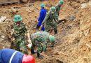 Tin trong nước - Ảnh hưởng bão số 8, tạm dừng tìm kiếm công nhân mất tích ở Rào Trăng 3