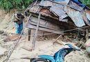 Tin trong nước - Quảng Ngãi: Lũ quét cuốn trôi 6 nhà dân trong tích tắc, ngôi làng có nguy cơ bị xóa sổ