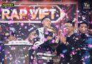 """Tin tức giải trí - Dế Choắt trở thành Quán quân Rap Việt mùa đầu tiên với số lượt bình chọn cao """"ngất ngưởng"""