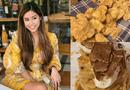 """Tin tức giải trí - Em chồng Hà Tăng khoe bữa ăn """"xa xỉ"""" với món nấm đắt đỏ nhất thế giới"""