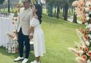 Tin tức giải trí - MC Thu Hoài và chồng doanh nhân tổ chức tiệc mời cưới hoành tráng ở sân golf