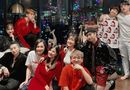 """Tin tức giải trí - """"Mẹ bỉm sữa"""" Đông Nhi chiếm trọn spotlight đêm tiệc Giáng sinh của hội bạn thân"""