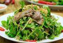 Ăn - Chơi - Gỏi rau má thịt bò thanh mát, siêu chống ngán sau Tết