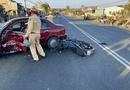 Tin trong nước - Tin tai nạn giao thông ngày 18/2/2021: Tông ôtô chuyển hướng sang đường, thanh niên tử vong