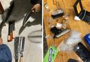 """Pháp luật - Trốn truy nã còn """"thủ"""" súng, ma túy, đối tượng trong đường dây trộm cắp xe máy bị tóm gọn"""