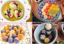Ăn - Chơi - Trầm trồ loạt bánh trôi bánh chay đẹp như kiệt tác, hội mẹ đảm trổ tài Tết Hàn thực