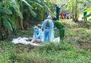 An ninh - Hình sự - Rợn người xác nam thanh niên bị quấn chăn vứt ở KCN Sóng Thần
