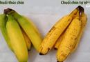 Sức khoẻ - Làm đẹp - Cách phân biệt quả chín tự nhiên và quả thúc chín bằng hóa chất