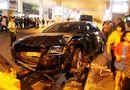 Xe Audi đón Hồ Ngọc Hà gây tai nạn: Bé 9 tháng tuổi nhập viện