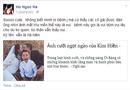 """Chuyện làng sao - Hồ Ngọc Hà """"phát bệnh"""" """"hâm""""  vì ảnh cưới của Kim Hiền"""