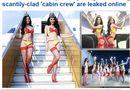 Chuyện làng sao - Dailymail đăng ảnh Ngọc Trinh diện bikini quảng cáo cho Vietjet