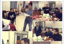 Tin tức giải trí - Hậu trường Táo quân 2015: Ngọc hoàng Quốc Khánh ăn mỳ gói lót dạ