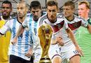 """World Cup 2014 - Đức đấu với Argentina: Những thống kê khiến Messi sẽ """"tắt điện"""""""