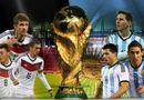 World Cup 2014 - Argentina đấu với Đức: Lich thi đấu World Cup 2014 ngày 14/7