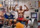 Thể thao 24h - Clip: Lực sỹ chơi nhạc siêu đỉnh bằng... cơ bắp
