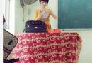 """Gia đình - Tình yêu - Nhan sắc tựa hot girl của cô giáo 9X """"chao đảo"""" dân mạng"""