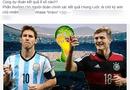 Cộng đồng mạng - Dân mạng dồn dập dự đoán tỷ số trận Đức đấu với Argentina