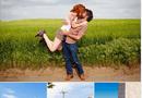 """Gia đình - Tình yêu - Bộ ảnh """"Nụ hôn nhấc bổng"""" làm giới trẻ thích mê"""