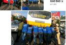 Gia đình - Tình yêu - Hình ảnh đẹp: Tình nguyện viên đẩy xe bus chết máy giữa đường