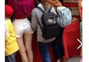 Cộng đồng mạng - Phản cảm chân dài mặc quần short ngắn đi chùa
