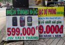Thị trường - Điện thoại 599.000 đồng pin khỏe bán ở lề đường Sài Gòn