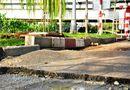Tin trong nước - Mặt đường phát nổ, xuất hiện vết nứt giữa trung tâm Sài Gòn