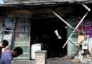 Tin trong nước - Hà Nội: Cháy cửa hàng tạp hóa, 5 người thương vong