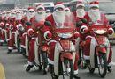 """Thị trường - Noel 2014: Dịch vụ làm đẹp, ông già Noel giao quà """"hốt bạc"""""""