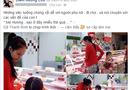 Chuyện làng sao - Diễm Hương bụng bầu giản dị đi siêu thị
