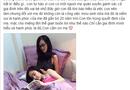 Chuyện làng sao - Angela Phương Trinh tự hào về gánh xôi của mẹ