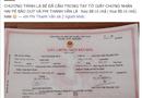 Chuyện làng sao - Phi Thanh Vân khoe giấy đăng ký kết hôn
