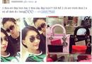 """Sao Việt """"đụng hàng"""" túi xách Dior trăm triệu của Ngọc Trinh"""