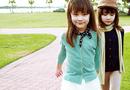 Cộng đồng mạng - Vẻ đẹp tan chảy của cặp chị em song sinh Mỹ lai Hàn
