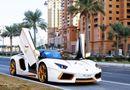 Video-Hot - Video: Choáng với Lamborghini Aventador Roadster độ bằng vàng thật