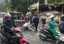 Tin trong nước - Hai xe máy đấu đầu giữa phố, một người nguy kịch