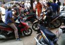 Tin trong nước - Dự án tuyến Cát Linh - Hà Đông: Thanh sắt lại rơi trúng ô tô đang lưu thông