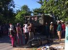 Tin trong nước - Quảng trị: Chở con đi học, 3 mẹ con bị xe ben tông thương vong