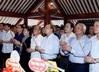 Tin trong nước - Thủ tướng và Chủ tịch Quốc hội dâng hương tưởng niệm Chủ tịch Hồ Chí Minh