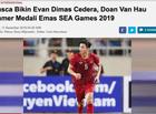 Bóng đá - Báo Indonesia: Văn Hậu cố tình chơi xấu với Evan Dimas