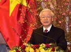 Tin trong nước - Tổng Bí thư, Chủ tịch nước chúc Tết lãnh đạo, nguyên lãnh đạo Đảng, Nhà nước