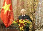 Tin trong nước - Tổng Bí thư, Chủ tịch nước Nguyễn Phú Trọng chúc Tết đồng bào, đồng chí và chiến sĩ cả nước