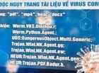 Tin trong nước - Lợi dụng dịch Covid-19, tin tặc phát tán mã độc nguy hiểm